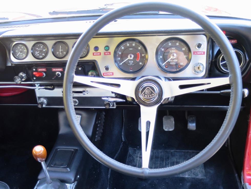 Lotus Cortina Mk1 Aeroflow A Frame Monaco Red 5