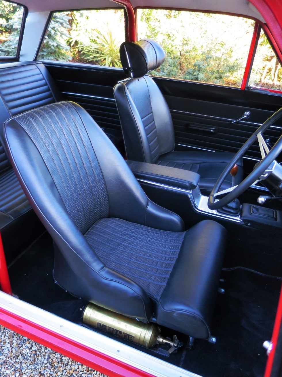 Lotus Cortina Mk1 Aeroflow A Frame Monaco Red 7
