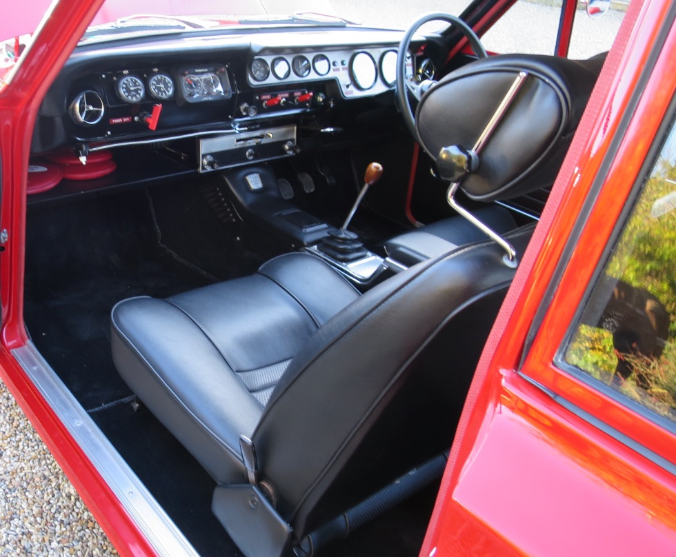 Lotus Cortina Mk1 Aeroflow A Frame Monaco Red 8