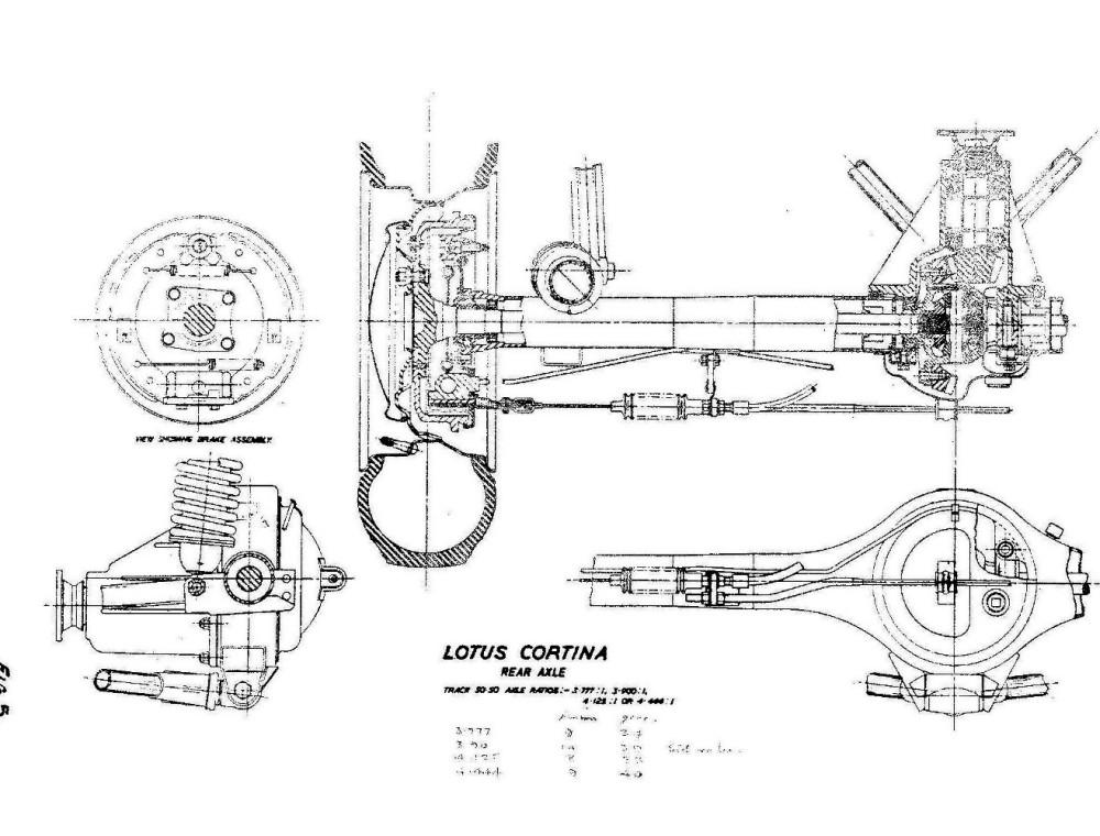 Lotus Cortina Engineering 0039