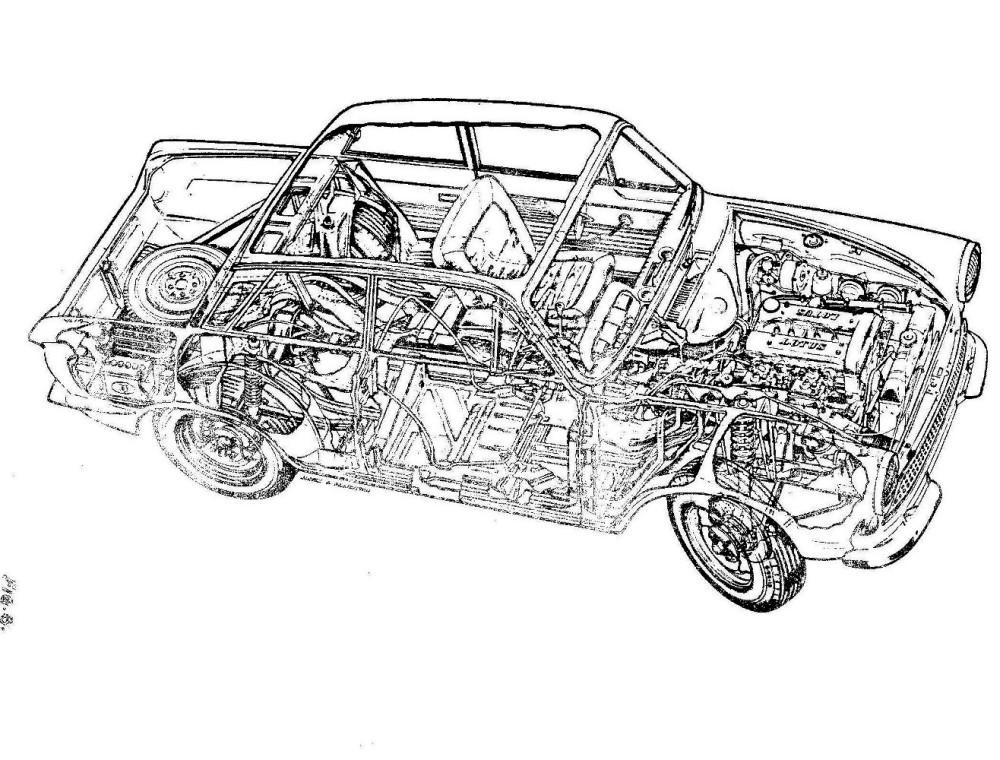 Lotus Cortina Engineering 0040