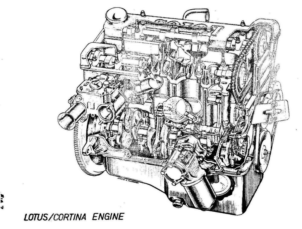 Lotus Cortina Engineering 0041