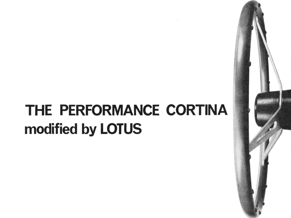 Lotus Cortina Press Pack 1963 1